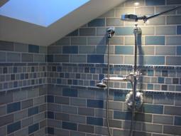dual-head shower