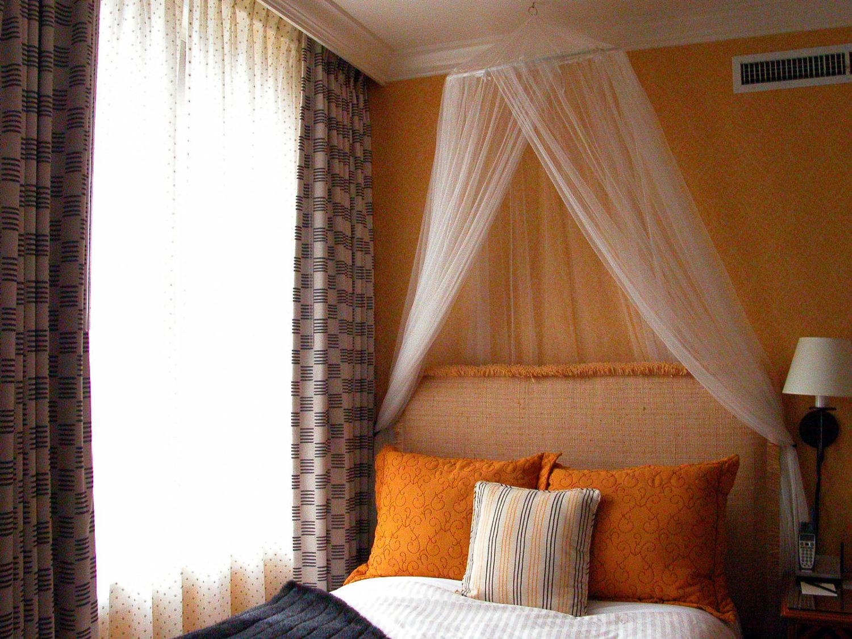 Bedroom Window Dressings