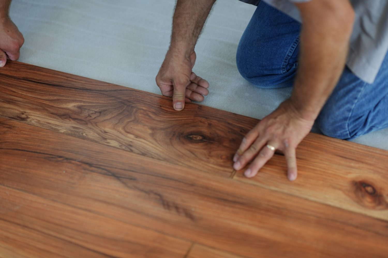 Wood Flooring or Laminate Wood Flooring
